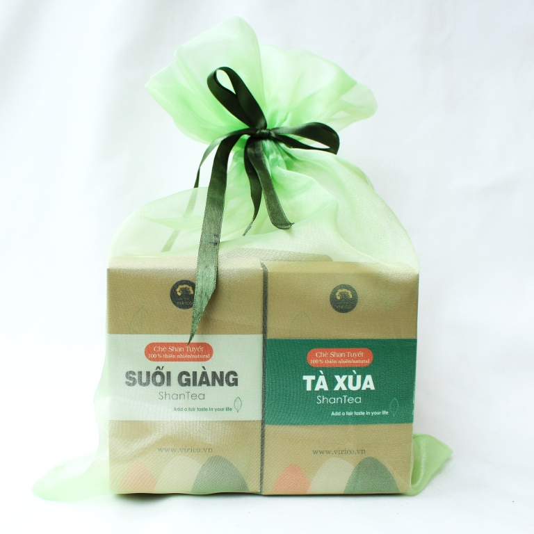 shan tea gift box